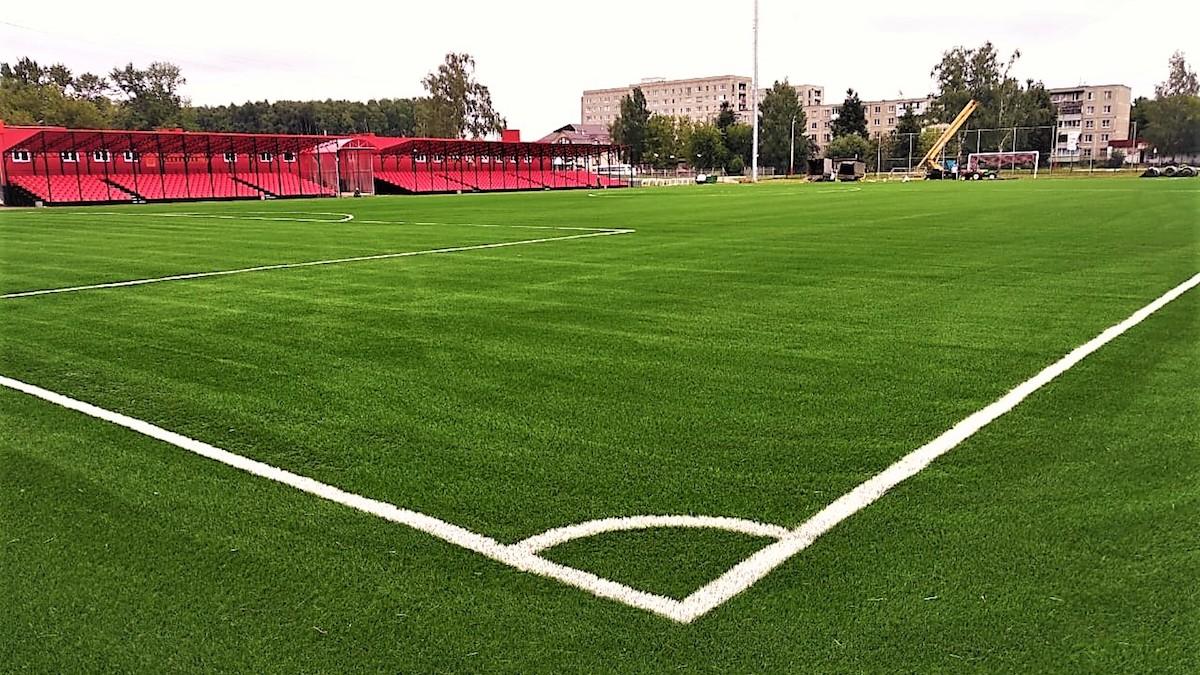 Немецкие футбольные поля
